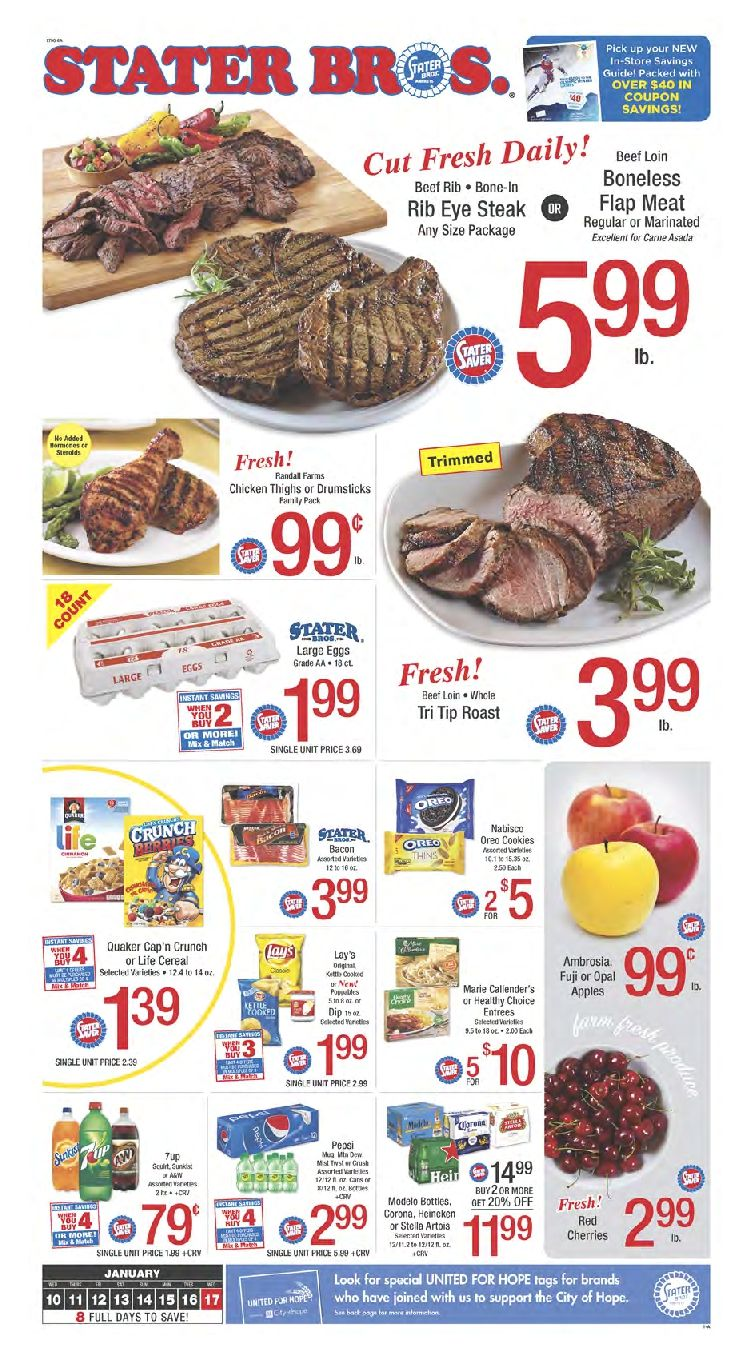 Stater Bros weekly ad January 10 - 17, 2018 - http://www.olcatalog ...