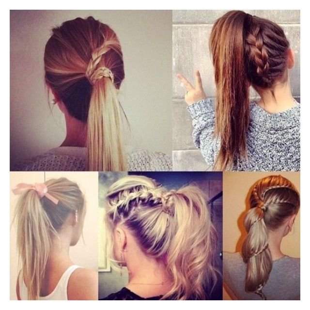 Designer Clothes Shoes Bags For Women Ssense Braided Ponytail Hairstyles Hairstyle Chic Ponytail