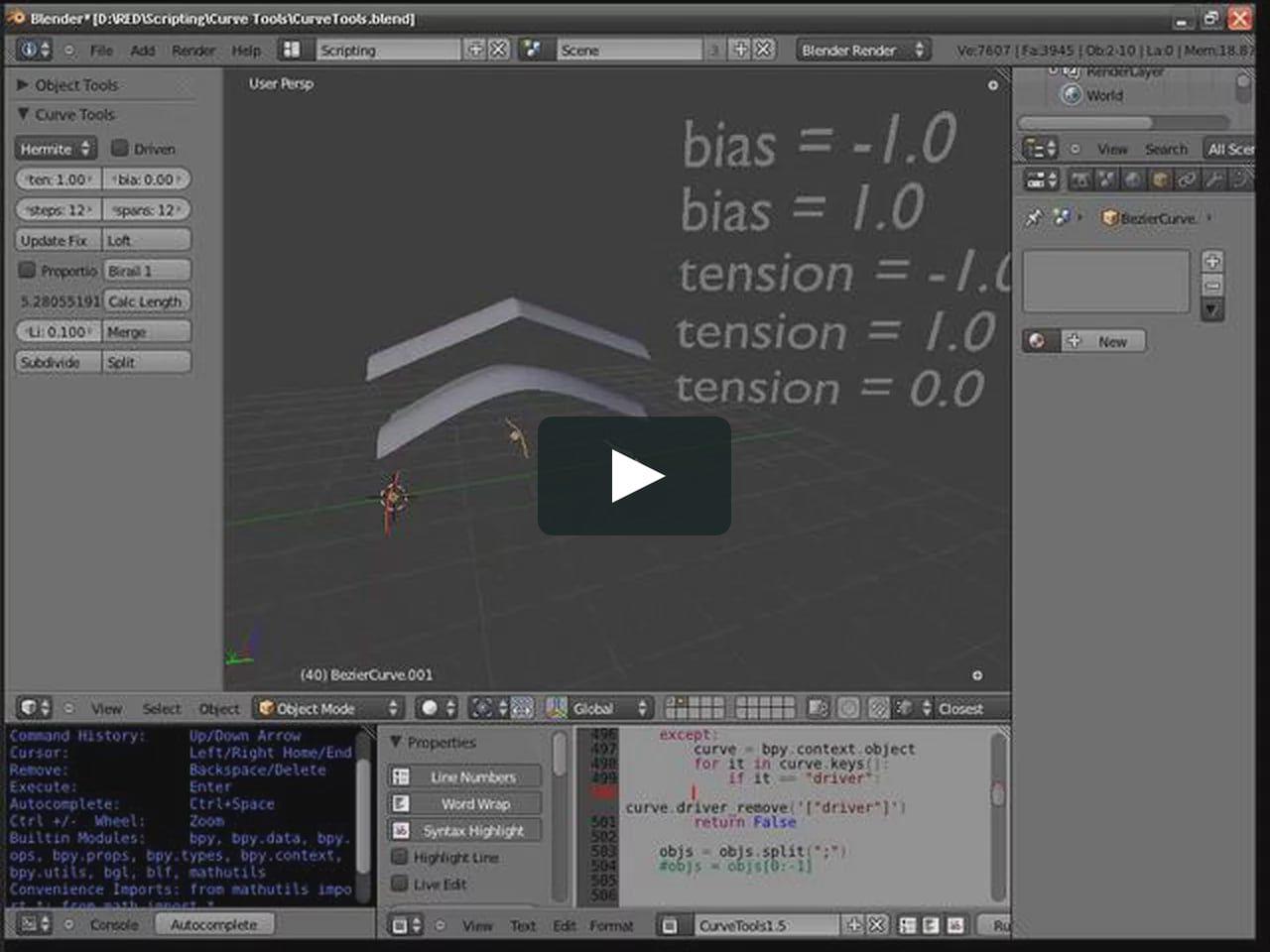 Curve Tools 1 5 | Cool Art - 3D and Stuff | Blender 3d, Curves, Cool art