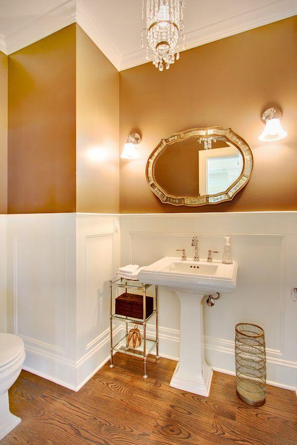 10 id es pour cr er un d cor antique dans sa salle de bain. Black Bedroom Furniture Sets. Home Design Ideas