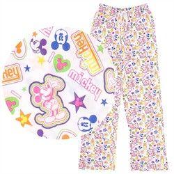 "Disney Mickey /& Minnie /""Perfect Match/"" Ladies Pyjamas"