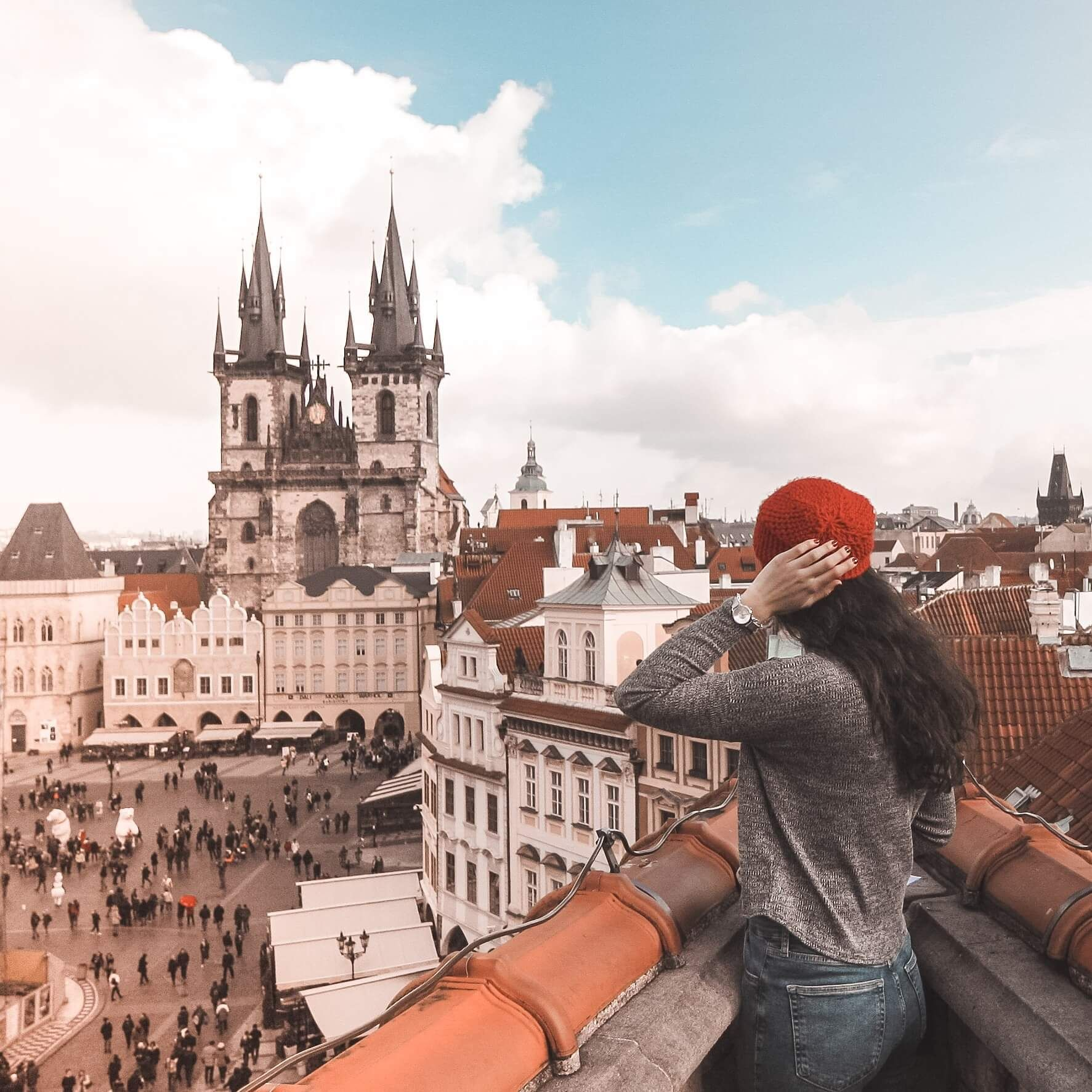 Best Rooftop Views In Prague The Travelling Frenchy Prague Travel Prague Photography Instagrammable Places