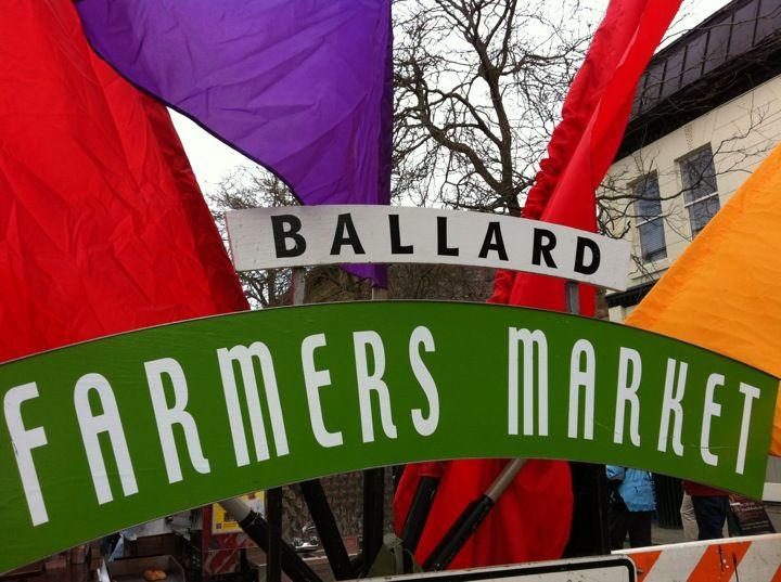 Ballard farmers market in seattle wa with images ballard
