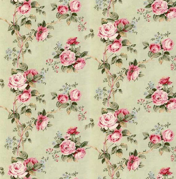 Dolls House Miniature Wallpaper 1/12th Or By