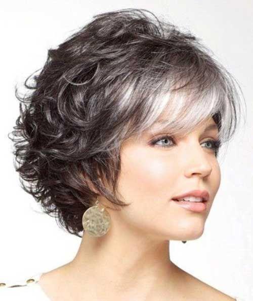Cortes de cabello en gris