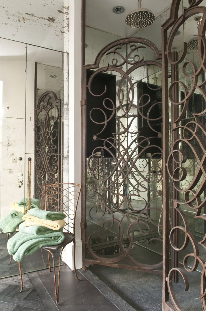Perfect shower by Elodie Sire fer forgé Pinterest Fer forgé