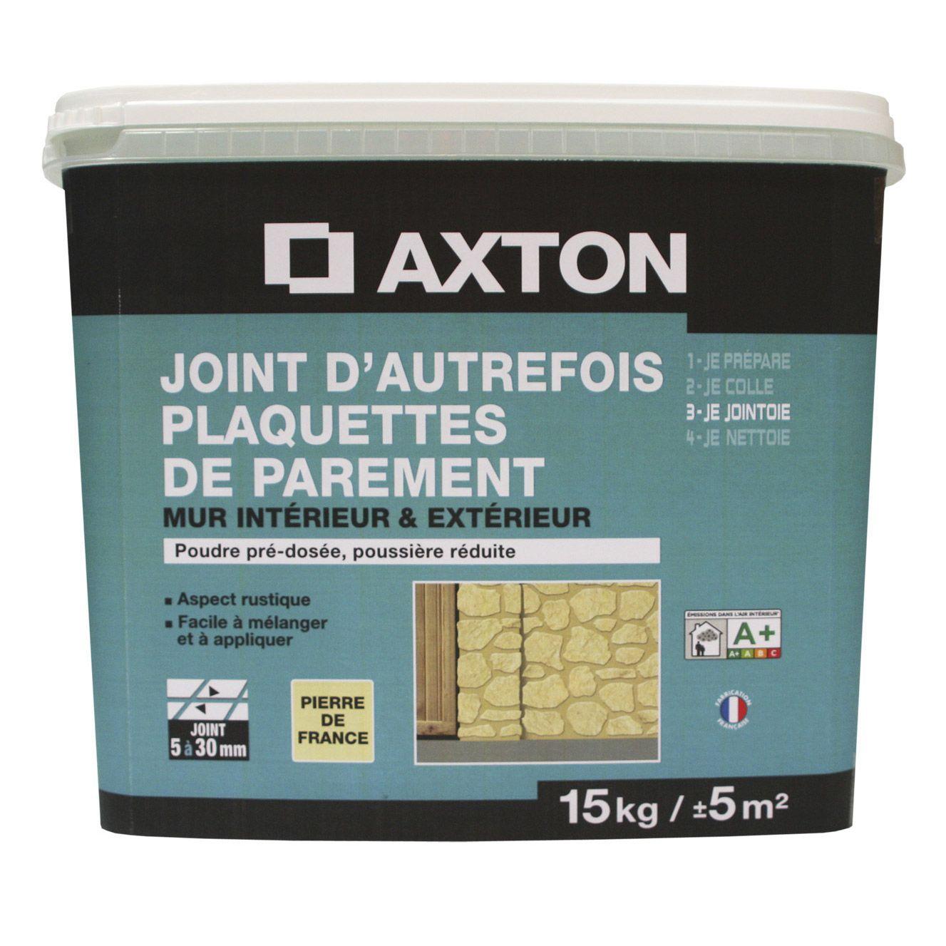 Joint En Poudre Pour Plaquette De Parement Axton Gris 15 Kg Plaquette Joint Luberon