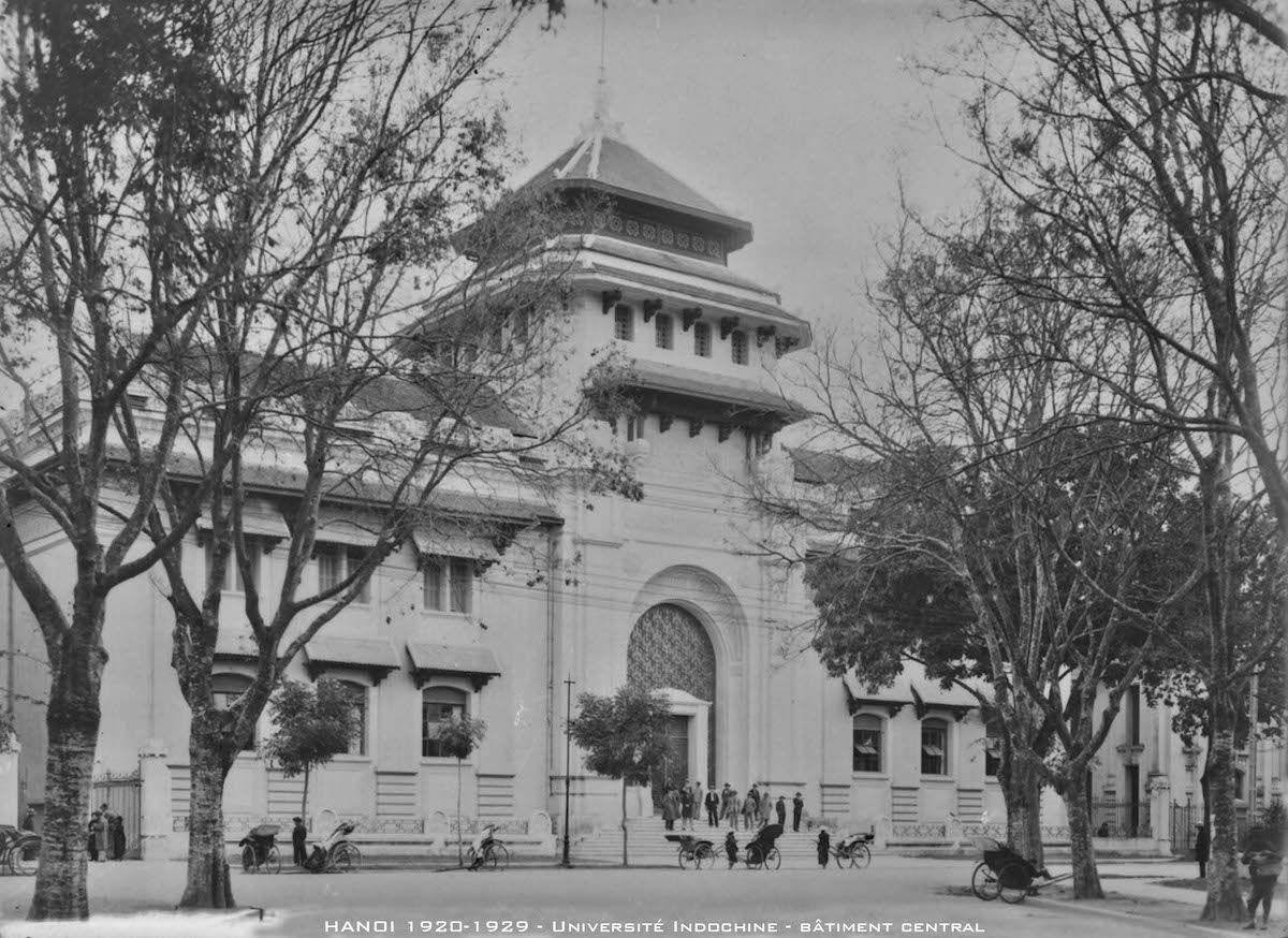 [Photos] The 1920s Students of Hanoi's Indochina
