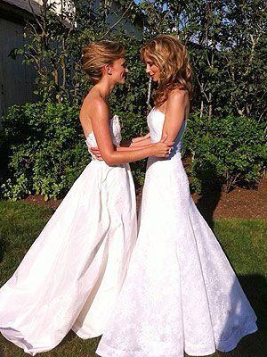 lesbische bruiloften Sex
