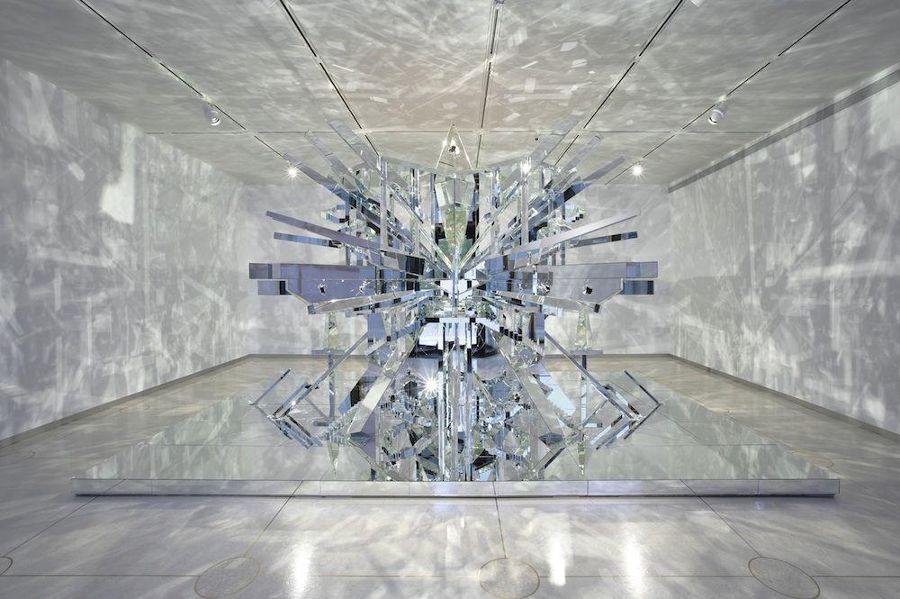 David Altmejd, The Eye, 2008, wood, mirror, glue. ©DAVID