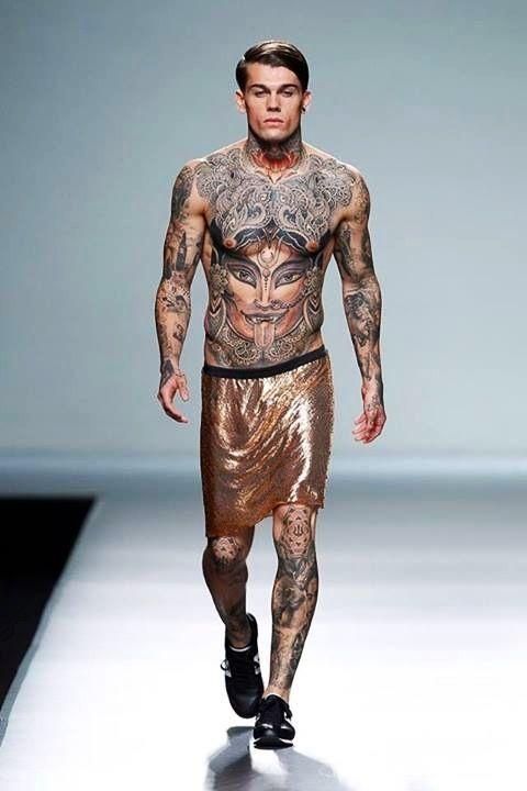 Sex tattoo man