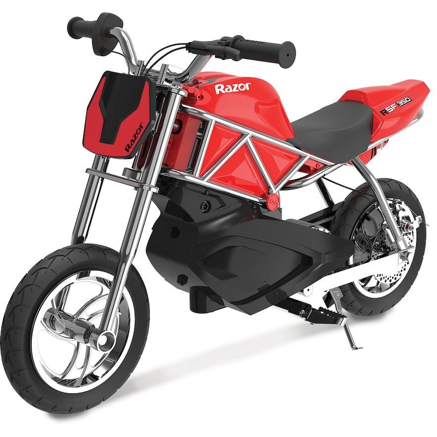Razor Rsf350 Electric Ride On Electric Dirt Bike Street Bikes Custom Bikes
