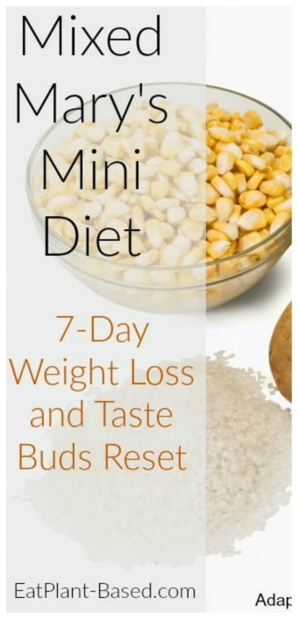 How We Lost Weight with a 7Day Mixed Marys Mini Diet