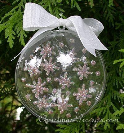 Sparkling Snowflakes Christmas Tree Ornament 330