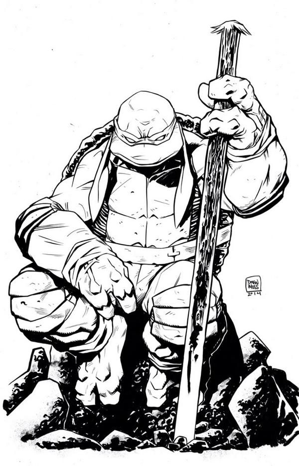 Teenage Mutant Ninja Turtles - Donatello by Drew Moss ...
