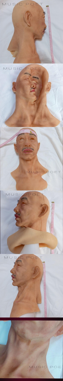 Silica gel facial mask