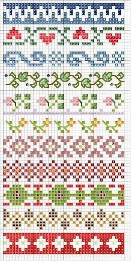 Cross Stitch Grecas Punto De Cruz Cenefas Punto De Cruz Patrones Para Tejer