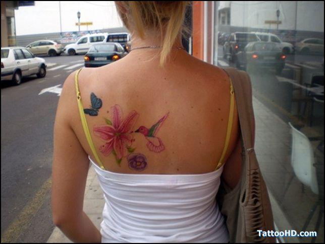 humming bird Tattoo   tatuagens beija-flor com flores « TattooDesignPicture.net