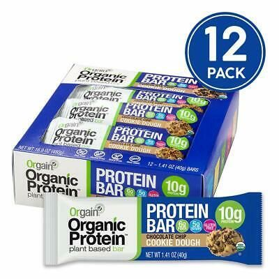 (Advertisement) Orgain Organic Plant Based Protein Bar Chocolate Chip Cookie Dough - Vegan Gl... #proteincookiedough (Advertisement) Orgain Organic Plant Based Protein Bar Chocolate Chip Cookie Dough - Vegan Gl... #proteincookiedough