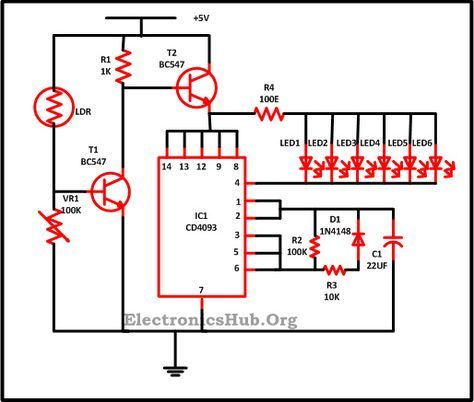 Led Christmas Lights Circuit Diagram And Working Circuit Diagram Led Christmas Lights Christmas Lights
