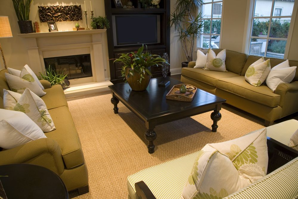 living room color schemes with black furniture%0A     Formal Living Room Design Ideas for        Green color schemes  Dark  brown and Green colors