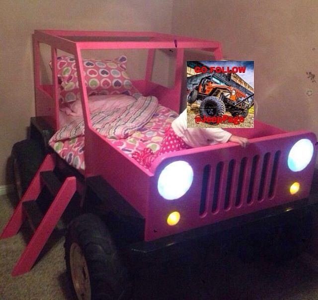 Jeep Toddler Bed Pink Jeep Lyfe Kid Beds Jeep Bed