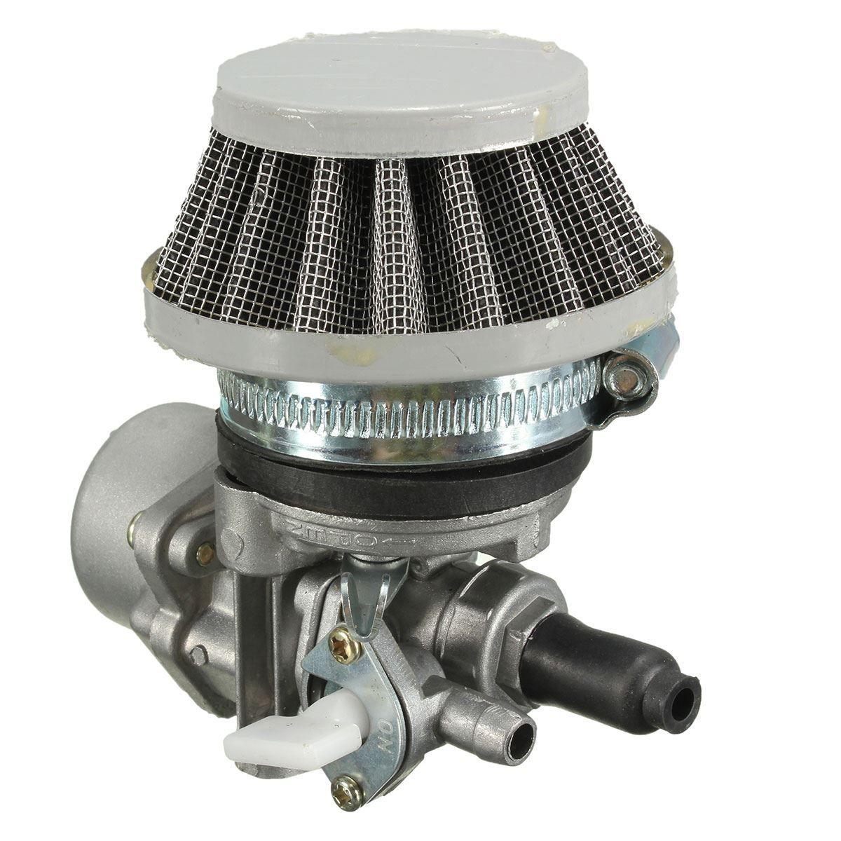 2015 Mini Carb Carburetor w/ Air Filter For 47cc 49cc Mini