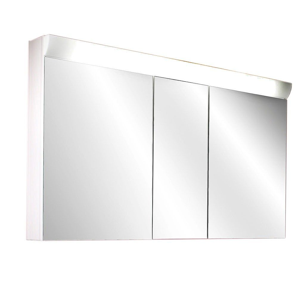 schneider bathroom cabinet schneider wangaline 3 door illuminated mirror cabinet 25872