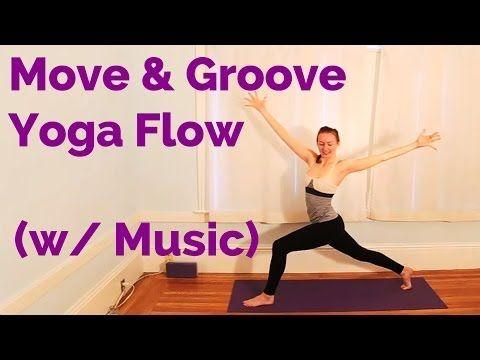 move  groove vinyasa flow yoga w/ music 25minutes