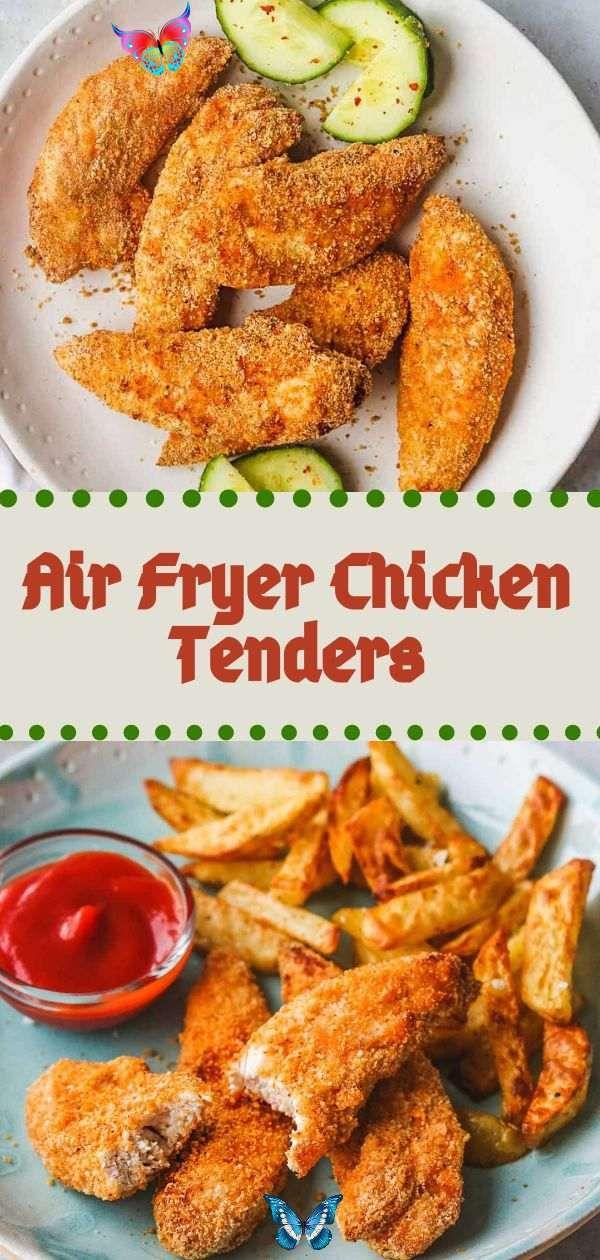 Keto Dinner Air Fryer Chicken Tenders, Keto Dinner