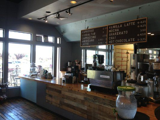 Super Cute Look And Feel To This Hip Rustic Coffee Shop
