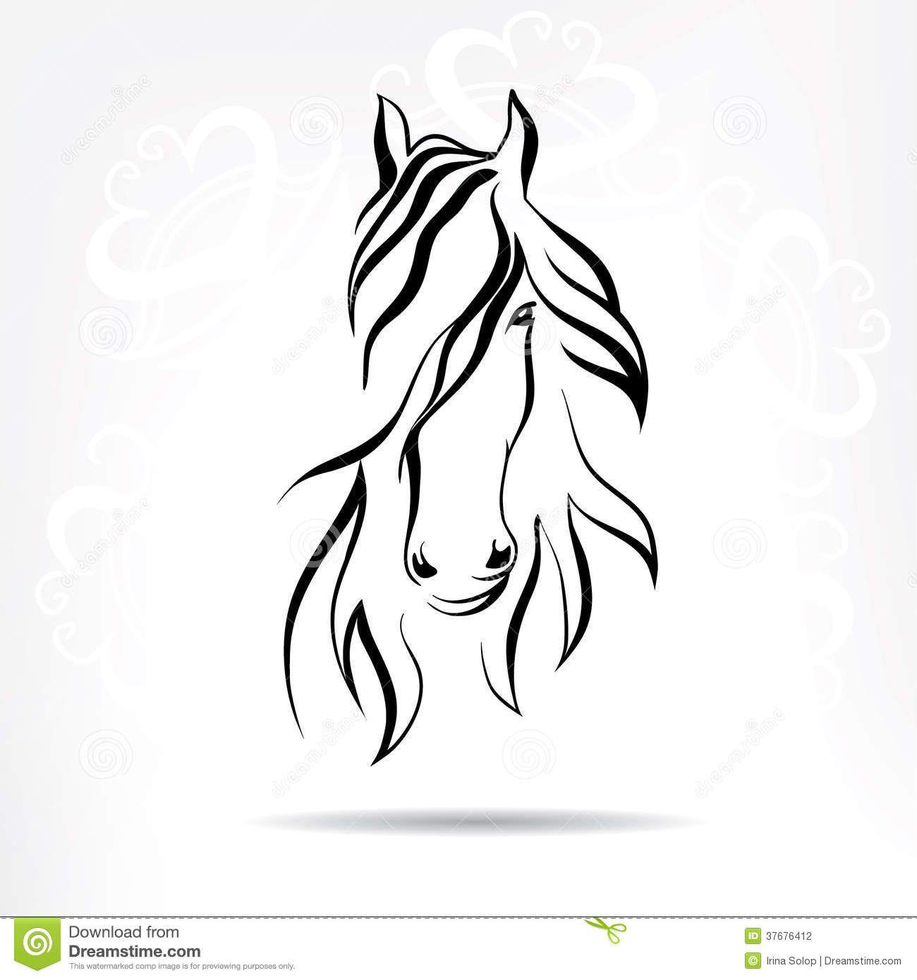 horse head silhouette - Google Search   TATTOO   Pinterest   Pferde ...