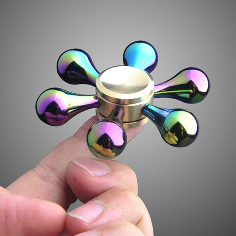 Cnc Fidget Spinner Precision Machine Metal Bearing Spinning Ckf Or Hand Uk Orchid Edc Aluminum Finger Focus