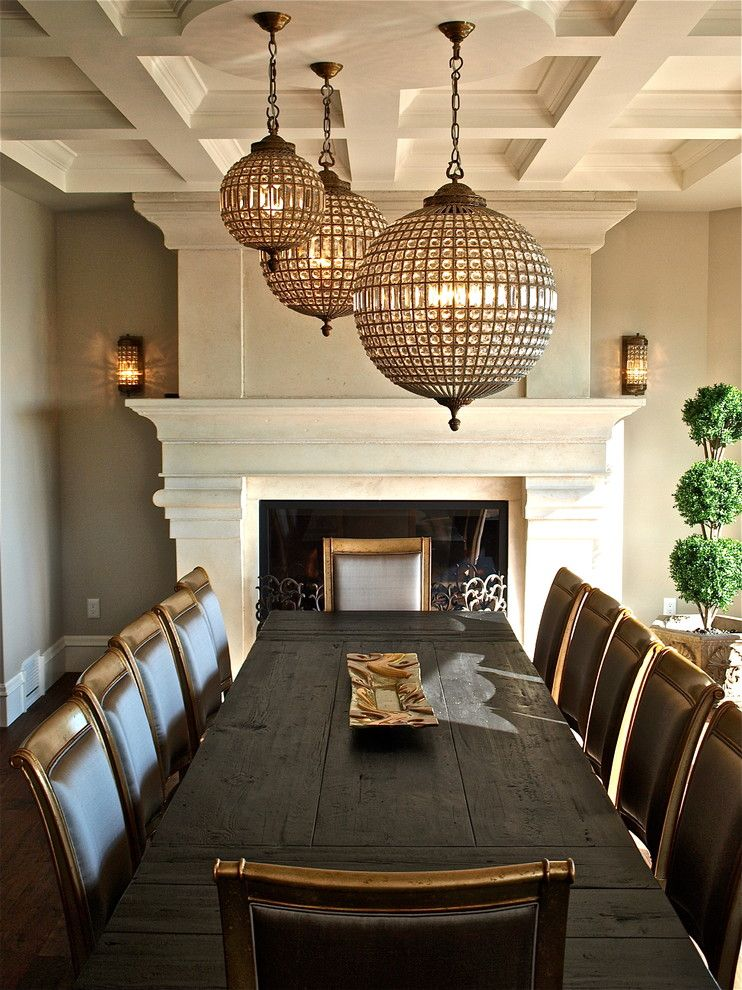 Elegant Traditional Dining Room Design Ideas Restoration