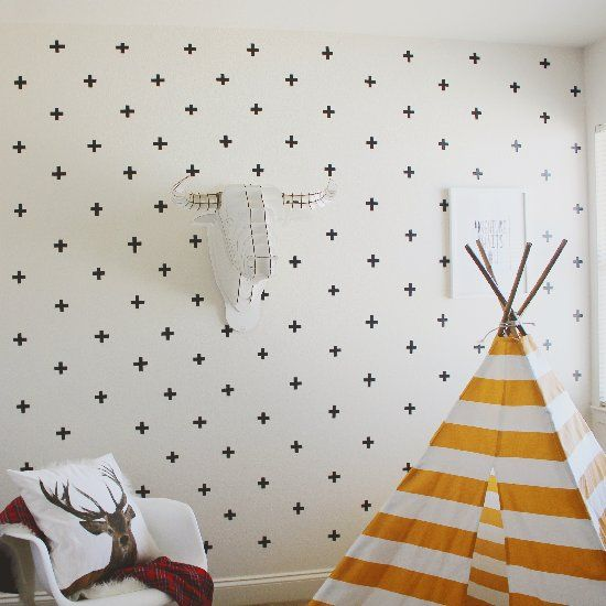 Washi Tape Wall Art jazz up your wall space with these easy washi tape wall decals