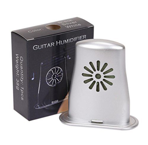 Acoustic Guitar Humidifier Protects From Aging And Moisture Silver More Info Could Be Found At The Image Url Note I Guitar Humidifier Acoustic Guitar Guitar