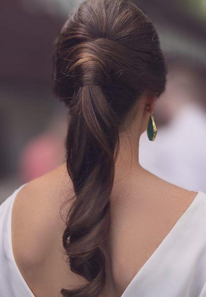 Hairstyle Novias Con Coleta Hairdo En 2019 Peinados Para Boda