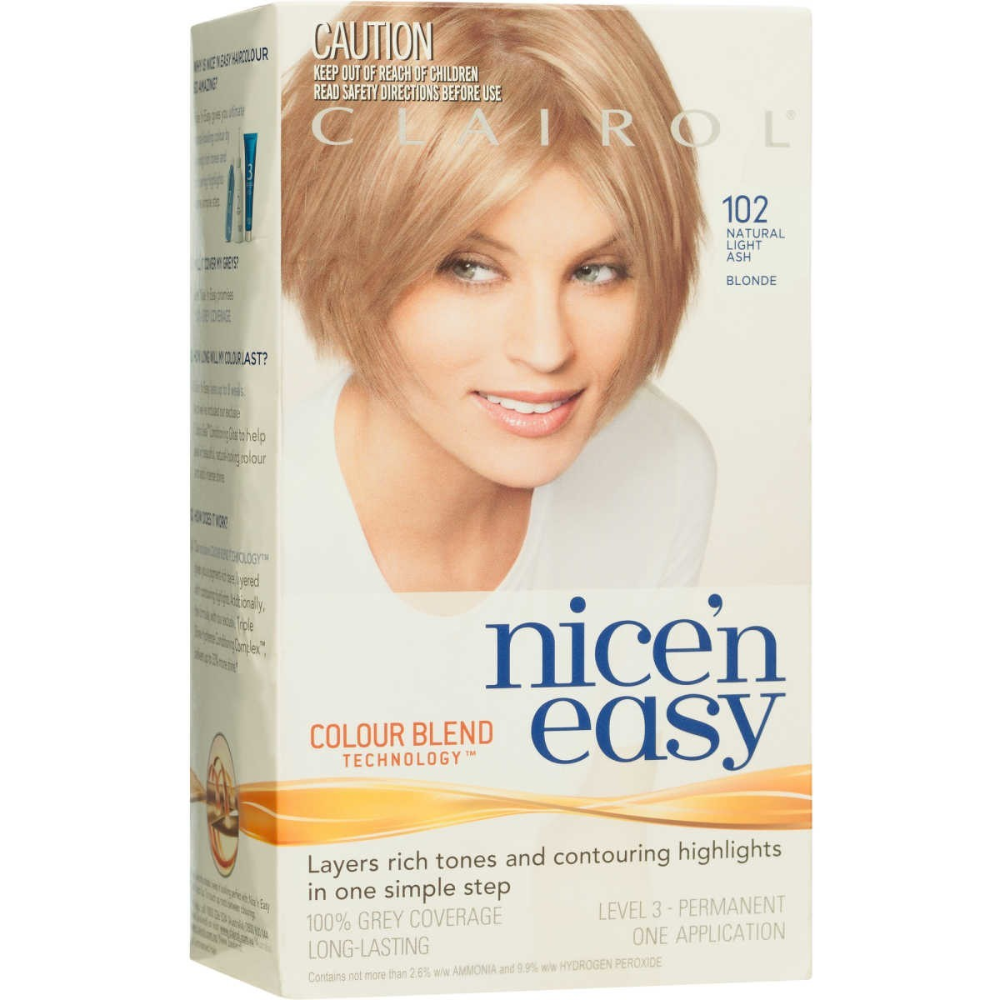 Clairol Nice 'n Easy Permanent Hair Colour - 102 Natural Light Ash Blonde #lightashblonde Clairol Nice 'n Easy Permanent Hair Colour - 102 Natural Light Ash Blonde | BIG W #ashblondebalayage Clairol Nice 'n Easy Permanent Hair Colour - 102 Natural Light Ash Blonde #lightashblonde Clairol Nice 'n Easy Permanent Hair Colour - 102 Natural Light Ash Blonde | BIG W #ashblondebalayage