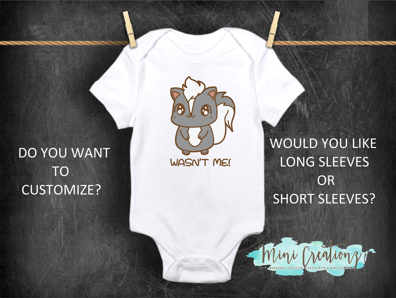 Cute Baby Onesies  Funny Baby Onesies Baby Bodysuit Or