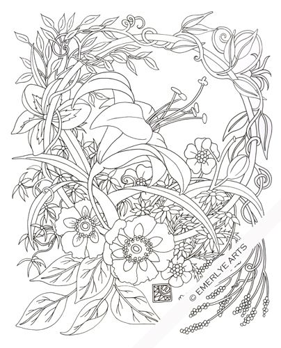 cynthia coloring pages - photo#36