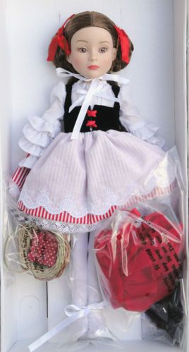 Effanbee What Big Eyes You Have Flexi-Pose Red Riding Hood Doll, Tonner 09