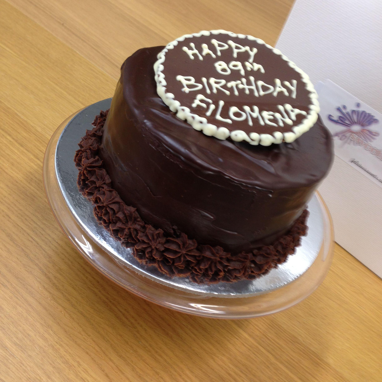 Vegan Chocolate Cake for one 5 chocolate cake covered in ganache