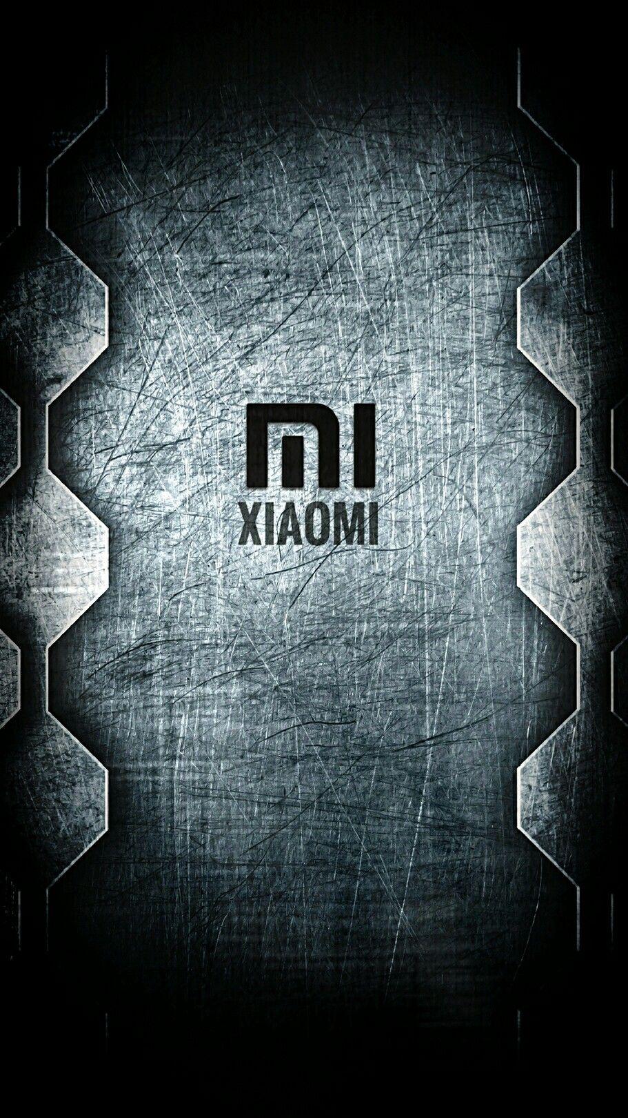 Xiaomi Logo Wallpaper 4k