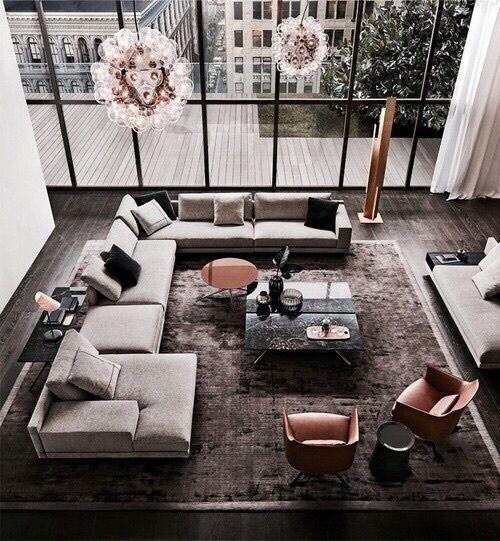 Wohnzimmer, Schmales Wohnzimmer, Sofa Im Wohnzimmer, Küchensofa, Klassische  Inneneinrichtung, Luxuswohnzimmer, Innenarchitektur, Treppenabsatz