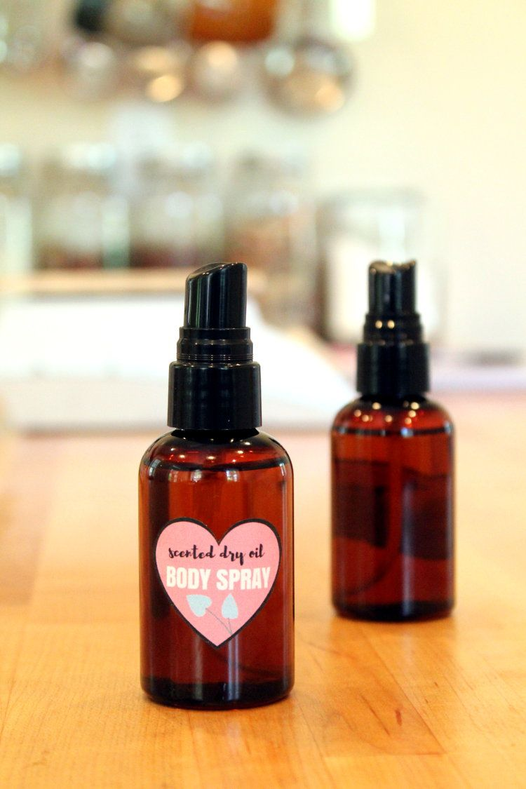 Diy dry oil body spray for dry skin free printable