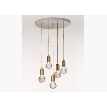 Crystal clear chandelier lee broom at lightology crystal lightsclear crystalchandelier crystalspendant