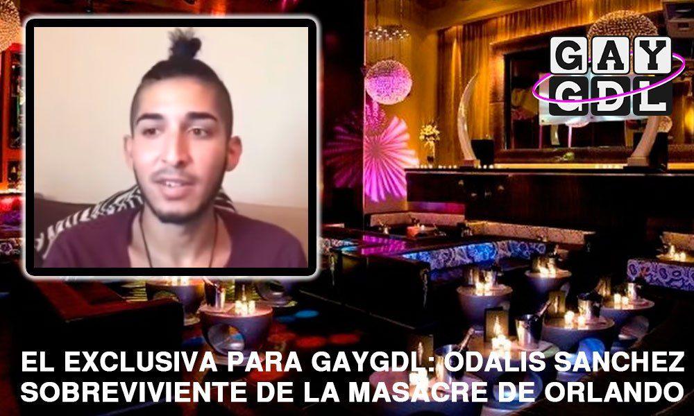 En exclusiva: Odalis Sánchez, victima sobreviviente de la masacre de Orlando