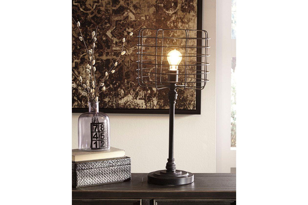 Javan Table Lamp Ashley Furniture HomeStore Metal