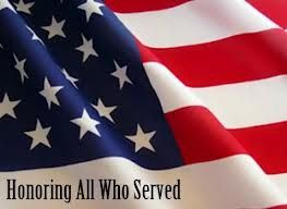 Happy Veterans Day - Thank you for your service!