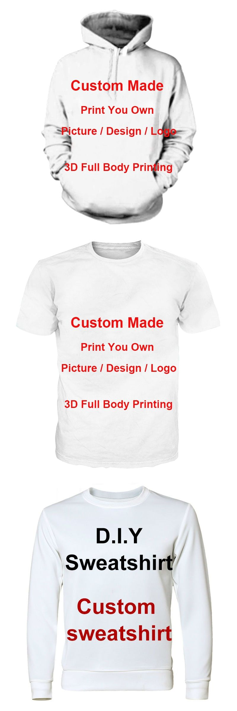 Men Women Create Your Own Customer Design Anime Photo Star You Want ... 85bd903d8